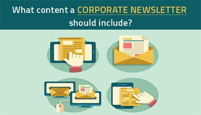 What content a Corporate Newsletter should include?
