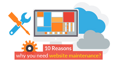 10 Reasons why you need website maintenance